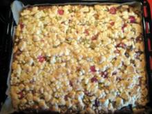 Rhabarberkuchen vom Blech - Rezept