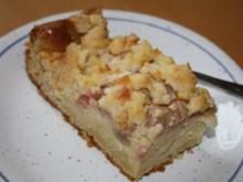 Rhabarber-Streuselkuchen - Rezept