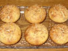 Kleingebäck - Kokos-Muffins mit fruchtiger Überraschung - Rezept