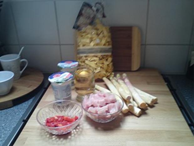 Puten-Spargel -Pfanne - Rezept