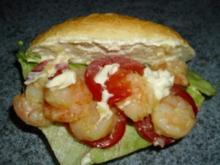 Garnelen-Burger - Rezept