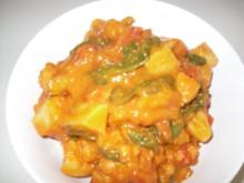 Kuerbis Blumenkohl Kokos Curry - Rezept