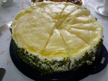 Mango - Maracuja - Torte - Rezept