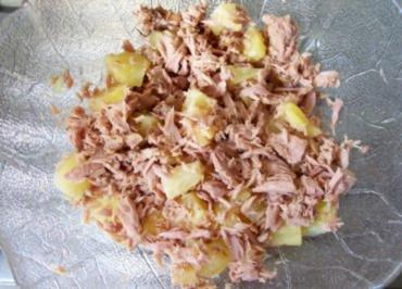 Salat: Thunfisch mit Ananas - Rezept
