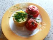 Tomaten mit Hackfüllung - Rezept