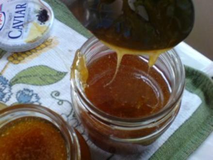 Löwenzahn-Honig 2 von den letzten Blüten - Rezept