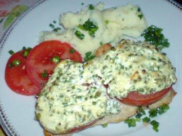Schnitzel mit Käsekruste - Rezept
