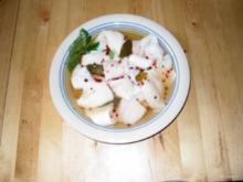 Maischolle mariniert - Rezept