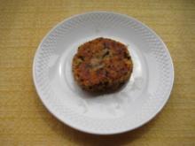 Auberginen Käse Laibchen - Rezept