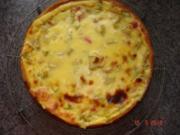Kuchen + Torten : Rhabarberkuchen mit Puddinghaube - Rezept