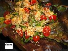 Spargelsalat mit Garnelen - Rezept