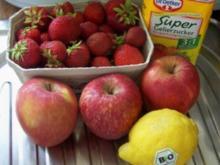 Einmachen: Apfel-Erdbeer-Marmelade - Rezept