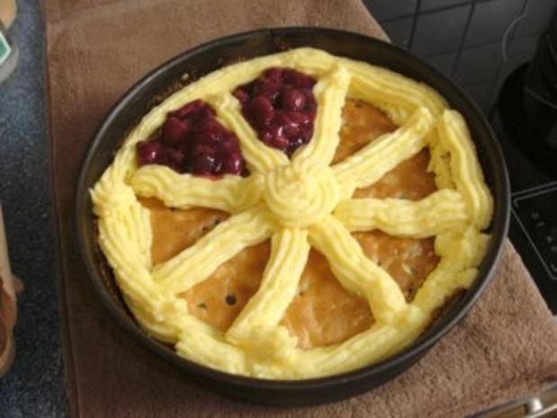 Schoko-Kirsch-Kuchen mit Puddingcreme - Rezept - Bild Nr. 5