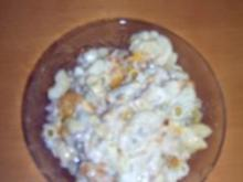 Nudelsalat mit Thunfisch und Mandarinen - Rezept