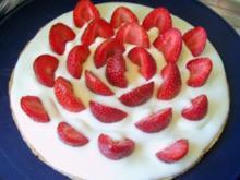 Backen: Erdbeer-Torte mit Quark-Sahne - Rezept