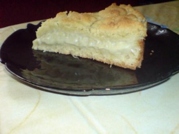 Rhabarber-Pudding-Kuchen - Rezept - Bild Nr. 2