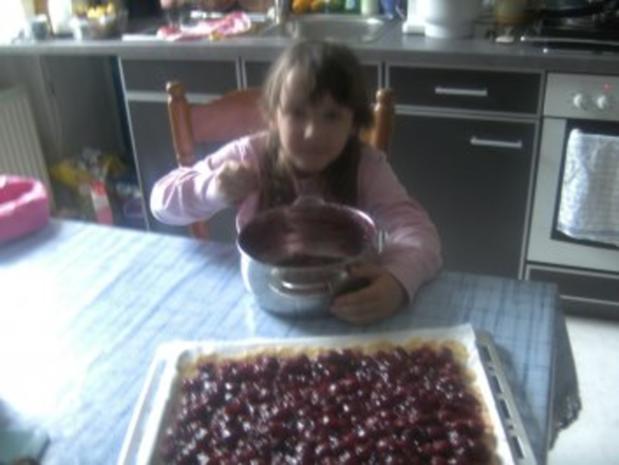 Kirschkuchen mit Baiserdecke - Rezept - Bild Nr. 10