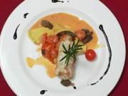 Seeteufel-Lasagne an Morcheln und Co. - Rezept - Bild Nr. 9