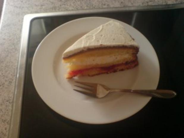 Zitronen-Sahne-Torte - Rezept - Bild Nr. 2