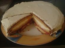 Zitronen-Sahne-Torte - Rezept