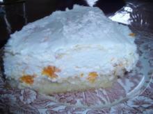 Schnelle Käse Sahne Torte mit Mandarinen - Rezept - Bild Nr. 2