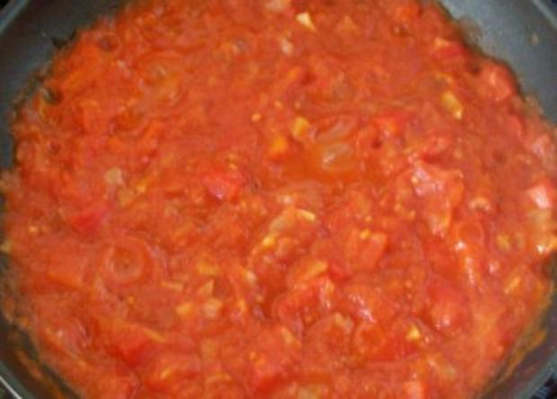 Kochen: Spaghetti mit Tomaten-Paprika-Sauce - Rezept - Bild Nr. 2