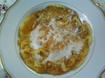 Fluffige Eierkuchen - Rezept