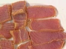 Tunfisch gebeizt in der Plastiktüte - Rezept
