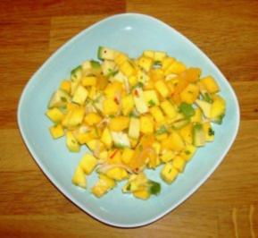 Avocado-Mango-Salat - Rezept