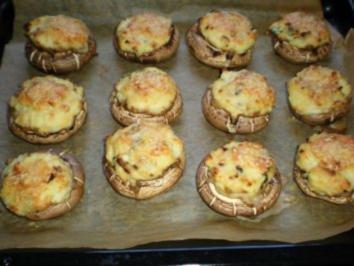 GEMÜSE: Portobellos mit toller Kartoffelfüllung - Rezept