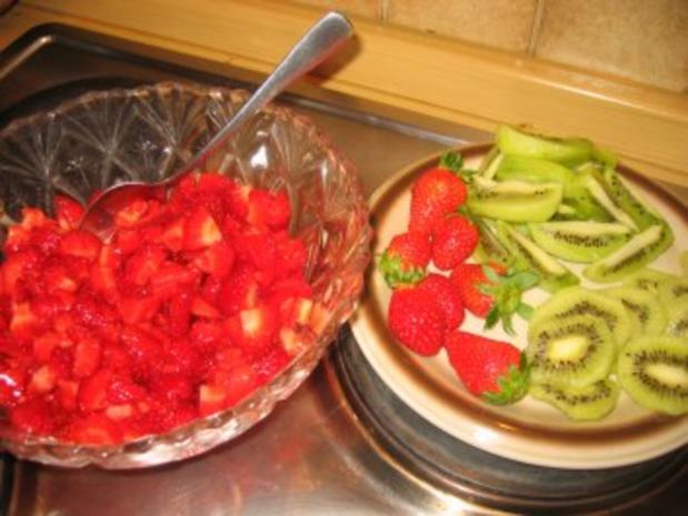 Backwaren: Erdbeer- Kiwi- Rolle - Rezept - Bild Nr. 9