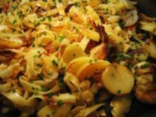 Kartoffel-Nudel-Pfanne ... - Rezept