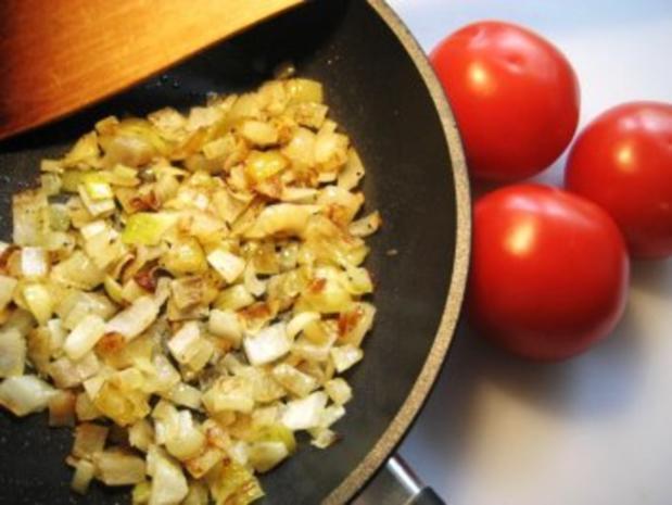 Tomatensalat mit mild gebratenen Zwiebeln - Rezept - Bild Nr. 4