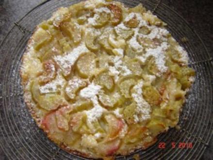 Kuchen + Torten : Rhabarberkuchen - Rezept