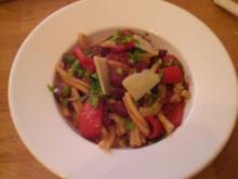Casarecce - Pasta aus Apulien - Rezept