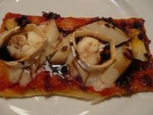 Spargel-Pizza - Rezept