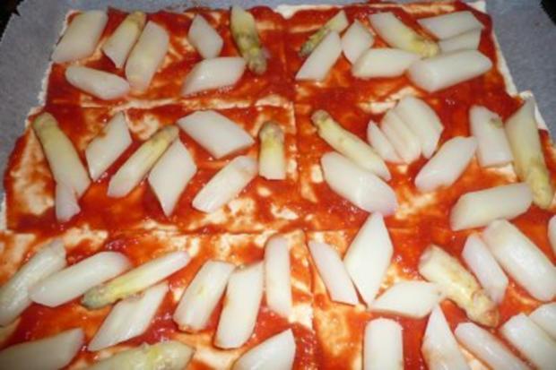 Spargel-Pizza - Rezept - Bild Nr. 2