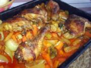scharfes Hähnchen afrikanisch - Rezept