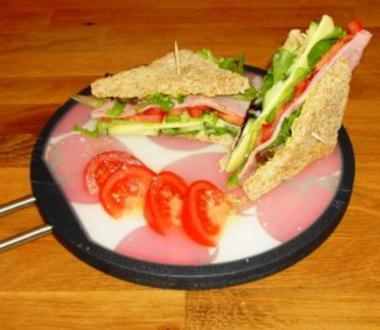 Sandwich -  super schnell und einfach lecker - Rezept