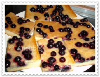 Kuchen/Gebäck - Heidelbeer- Blechkuchen - Rezept