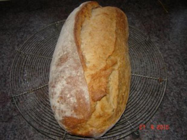 Brot + Brötchen : Schwäbisches Bauernbrot - Rezept - Bild Nr. 4