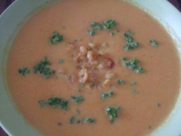 Meine Karotten Creme Suppe - Rezept