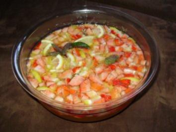 Erdbeer - Zitrus - Bowle - Rezept
