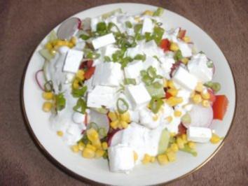 Feinschmeckersalat Variante 2 - Rezept
