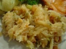 Schmor-Sauerkraut als herzhafte Beilage - Rezept
