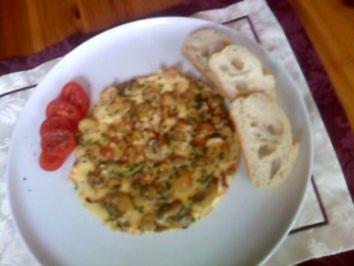 Champignon-Omelette - Rezept