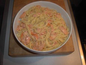 Lachs - Sahne - Sauce - Rezept