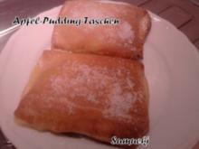Apfel-Pudding-Taschen - Rezept