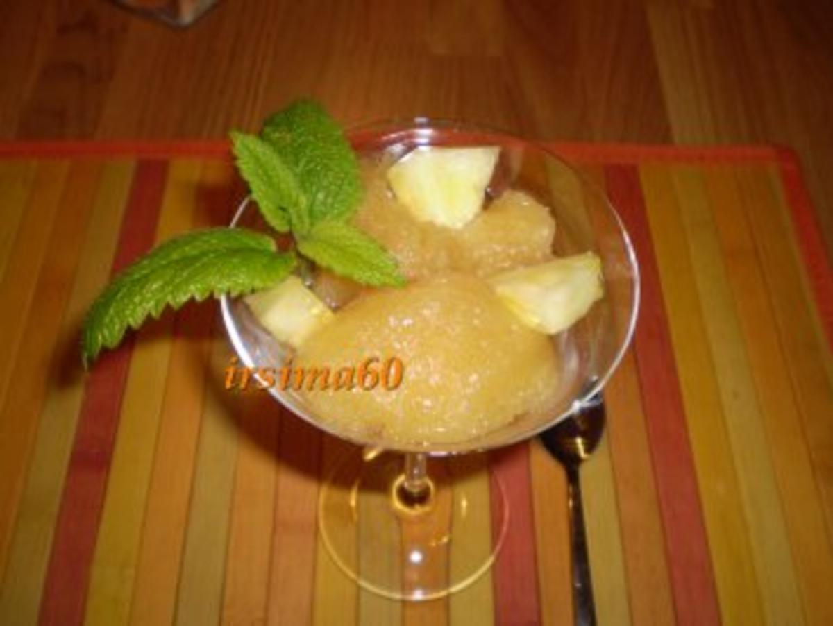 Ananas Sorbet - Rezept Gesendet von irsima60