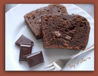 Schokoladenkuchen mit Kitkat - Rezept